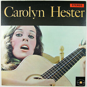 CAROLYN HESTER Carolyn Hester LP 1961 FOLK NM- NM-