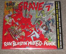 BACK FROM THE GRAVE VOLUME 7 -32 RAW GARAGE PUNK TRACKS