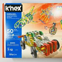 K'NEX Imagine – Power and Play Motorized Building Set – 529 Pieces - NEW IN BOX