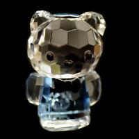 Mini Cat blue Hello Kitty Austrian crystal figurine ornament sculpture RRP$79