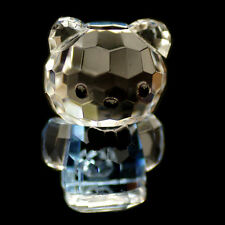Mini Cat blue Hello Kitty Austrian crystal figurine ornament sculpture RRP$79