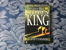 THE GREEN MILE PART 3: coffey's hands by STEPHEN KING