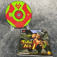 Tobal No 1 PS1 PlayStation 1 PAL Game Disc & Manual Only Rare Squaresoft Fighter