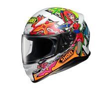 Helm Shoei NXR Stimuli TC-10 bunt Gr. M Integralhelm Motorradhelm