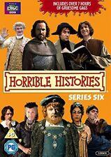 Horrible Histories - Series 6 [DVD] New Sealed UK Region 2