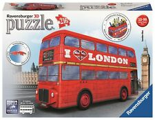 PUZZLE 3D RAVENSBURGER 12534 AUTOBUS BUS LONDRES  // 3D Jigsaw Puzzle LONDON BUS