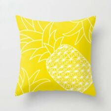 """45*45cm Yellow Home Decor Throw PILLOW CASE Sofa Couch Bed CUSHION COVER 18x18"""""""