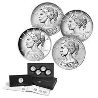 2017 American Liberty 225th Anniversary Silver 4pc Medal Set (OGP/COA)