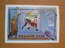 Zaire Olympia 1998 Nagano  Bl. 69A    postfrisch
