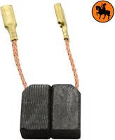 NUOVO Spazzole di Carbone BLACK & DECKER CD500 - 6.3x8x13.5mm