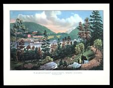 Currier & Ives Art Print - United States Military Academy West Point
