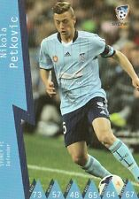 NIKOLA PETKOVIC SYDNEY FC A-LEAGUE 2014/2015 TAPNPLAY SOCCER CARD