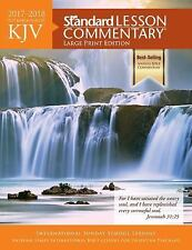New! Clearance! KJV Standard Lesson Commentary® Large Print Edition 2017-2018