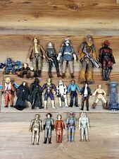 Star Wars Action Figure Lot Of 21~ Black Series, Vintage