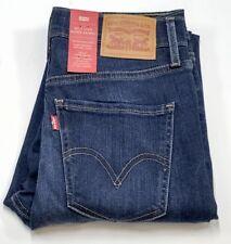 Levi's Ladies Mile High Super Skinny Blue Jeans-vintage soft