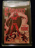 1968 Marvel The Avengers #57 CGC 7.5 Off White to White Pages
