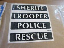 Harley-Davidson decal sbag police set pegatinas 14100382 ORIG. Police Trooper