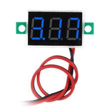 2 Wires Mini Dc 25 30v Voltmeter Led Panel 3 Digital Display Voltage Metermh