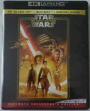 STAR WARS: EPISODE VII THE FORCE AWAKENS 4K ULTRA HD BLU RAY 3 DISC SET