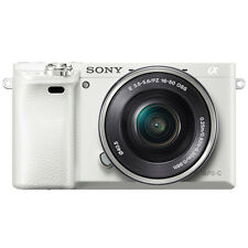 New SONY Alpha A6000 Mirroless Digital Camera ILCE6000 Body Only (White)