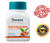 Himalaya Herbal Ashwagandha 60 Tablets Health Care & Wellness Pure Herb