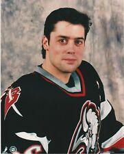PAT LaFONTAINE BUFFALO SABERS CENTER 8X10 COLOR PHOTO 1991-1997
