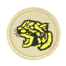 MINT Discontinued Yellow Cougar Patrol Patch Boy Scouts BSA
