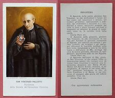 Santino Holy Card: San Vincenzo Pallotti