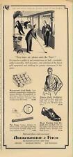 1962 Abercrombie & Fitch Men Fashion Golf Clothes PRINT AD