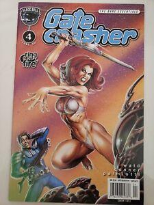 GATE CRASHER: RING OF FIRE #1-4 (2001) BLACK BULL COMICS AMANDA CONNER ART!