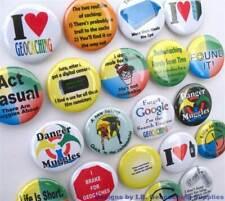 22 Geocaching Button Badges - 22 Designs
