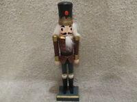 "Soldier/Guardsman Wooden Large 10"" Tall Nutcracker"