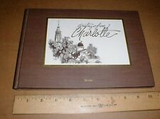 Charlotte NC North Carolina Pictorial Postcard picture History 1992 signed book