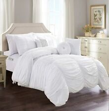 Elegant Comfort Luxury Best, Softest, Coziest 10-Piece Bed-in-a-Bag Pleated Comf