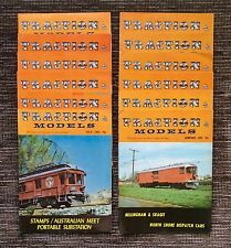 VERY RARE 1972 VINTAGE FULL SET of 12: Traction & Models Railroading Magazine