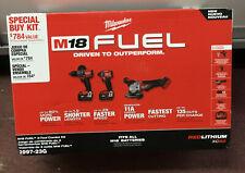 Milwaukee 2997-23G M18 Fuel 3 Tool Combo Kit NEW