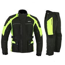 GMA Costume de moto Pour Hommes Veste et Pantalon toutes tailles S à 4XL