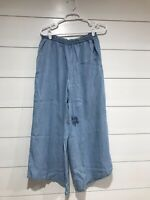 NWT Matilda Jane Let's Go Together Over and Over Cropped Pants Size Large Blue