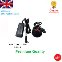 Acer Laptop Charger A13-045N2A 5.5x1.7mm with UK Cable 19V2.37A 45W