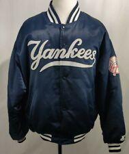 Vintage Starter Authentic Diamond Collection NEW YORK YANKEES Satin Jacket XXL
