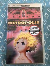 osamu tezuka Metropolis PSP UMD Video New & Sealed