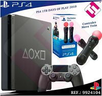 DAYS OF PLAY PS4 1TB 2019 PLAYSTATION 4 EDICION LIMITADA + CONTROLES MOVE TWIN