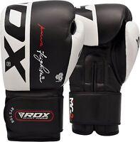 RDX Boxhandschuhe Kickboxen Boxsack Training MMA Muay Thai Sparring Boxen Gloves