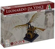 Flying Machine (Ornithopter) Leonardo Da Vinci Machines Plastic Kit Model