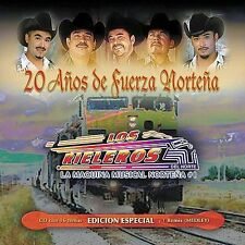 FREE US SHIP. on ANY 3+ CDs! ~Used,Very Good CD Rieleros Del Norte: 20 Anos De F