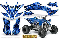 YAMAHA YFZ 450R/SE 09-13 ATV GRAPHICS KIT DECALS STICKERS CREATORX INFERNO BL