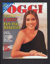 OGGI 11/1999 ROMINA POWER AL BANO CANADAS CAMPBELL SOLDINI BENIGNI TROISI PRODI