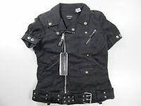 Miss Sixty Jeans Denim Jacke Jas Jacket Vest Spring Schwarz Neu L
