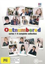 Outnumbered: Series 1, 2, 3, 4 & 5 DVD Box Set Complete Collection Region 4 New