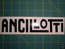 Lambretta ANCILLOTTI noir logo autocollant SX, gp.li.tv